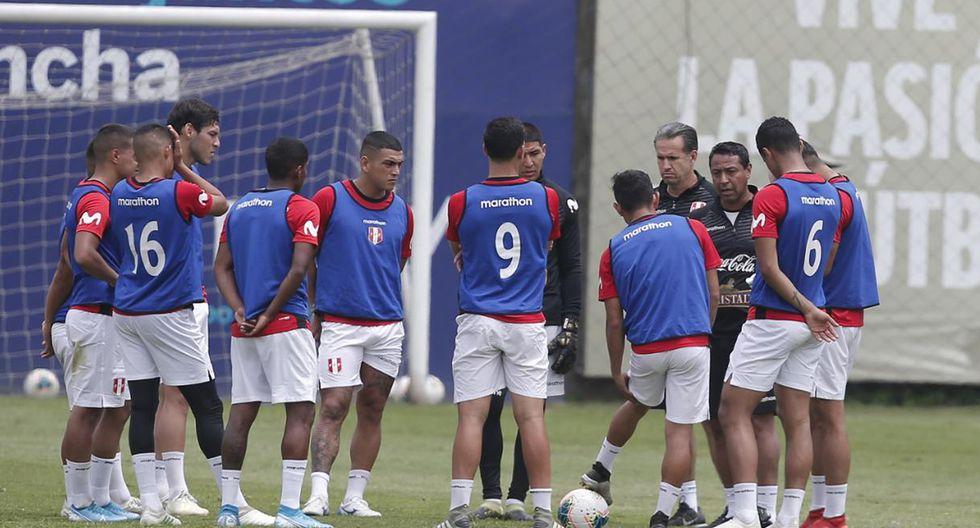 Nolbero Solano dirige a la selección peruana sub 23. (Foto: Francisco Neyra)