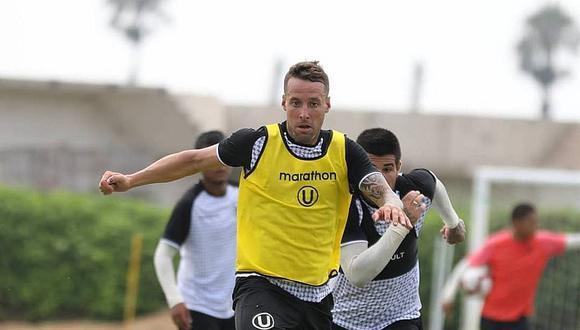 Pablo Lavandeira y su primer gol con Universitario 2019