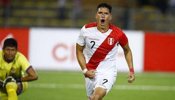 Yuriel Celi juega en la Academia Cantolao. (Foto: GEC)