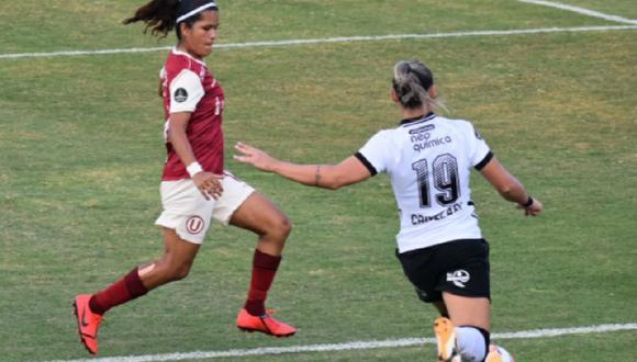 Corinthians derrotó 8-0 a Universitario en la Copa Libertadores Femenina. (Libertadores Femenina)