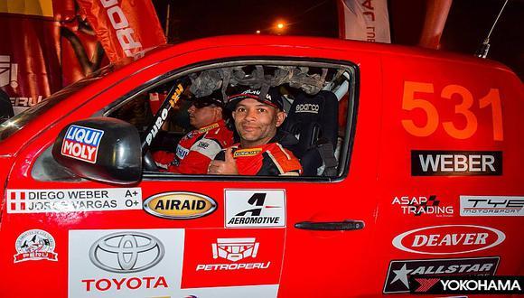 Dakar 2019: Diego Weber pide ayuda tras falla mecánica en tercera etapa