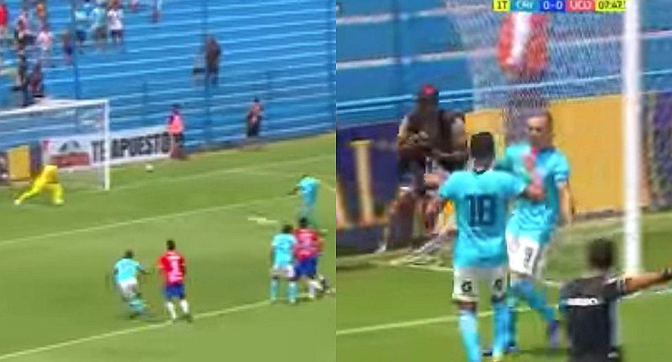 Emanuel Herrera abrió el marcador en el Gallardo ante U. Comercio [VIDEO]