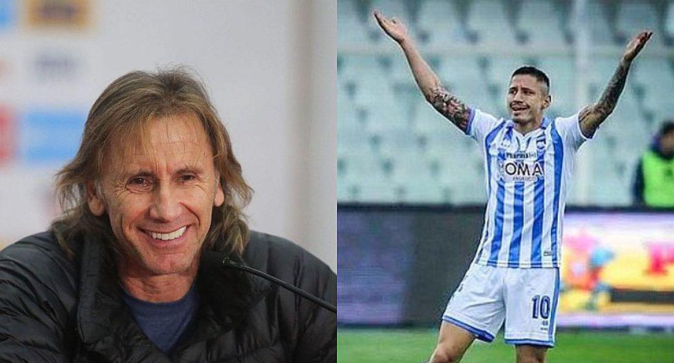 """Ricardo Gareca: """"Lapadula tiene las puertas de la selección abiertas"""""""