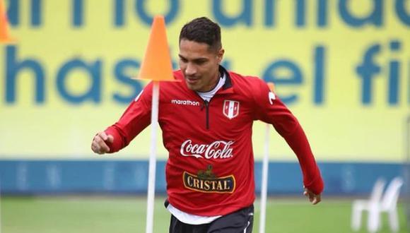 Paolo Guerrero ya está con la selección peruana. (Foto: FPF)