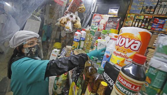 Si está permitido salir a pie o en bicicleta para hacer la adquisición de productos de primera necesidad, medicinas y recojo de alimentos en restaurantes. (Foto: Andina)