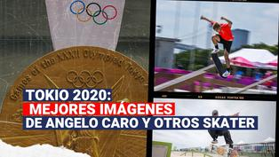 Tokio 2020: Disfruta las mejores imágenes de Angelo Caro y otros skater del mundo
