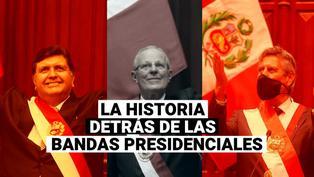Dante Grados: Las historias detrás de las bandas presidenciales