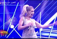 """Gisela y jurado de """"El Artista del Año"""" sorprenden al público bailando """"Grease"""""""