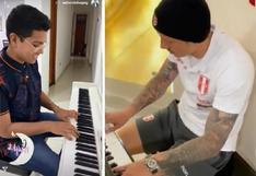 Christian Yaipén toca el piano al mismo estilo de Gianluca Lapadula y así suena (VIDEO)