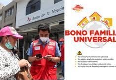 Bono Familiar Universal 2: padrón de beneficiarios para la última entrega