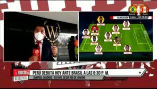 Copa América 2021: Brasil vs Perú podría desarrollarse bajo lluvia
