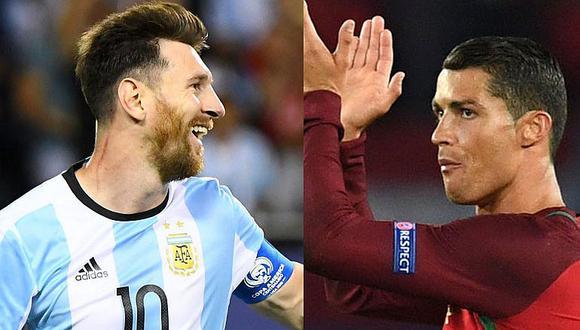Crespo y la comparación de siempre: Messi o Ronaldo