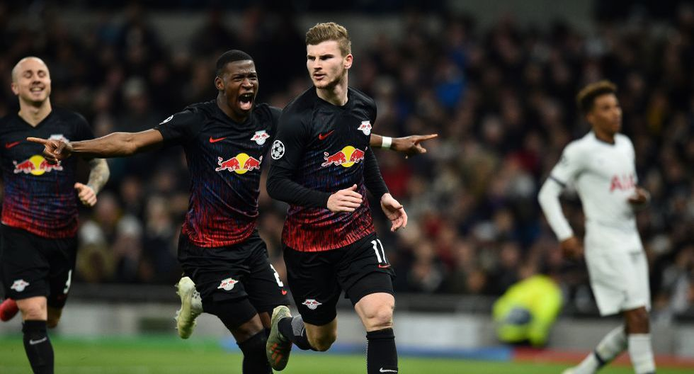 Tottenham de Mourinho cayó en casa 0-1 ante RB Leipzig por los octavos de final de la Champions League