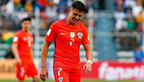 En Arsenal se burlan de Alexis Sánchez por no ir a Rusia 2018 con Chile