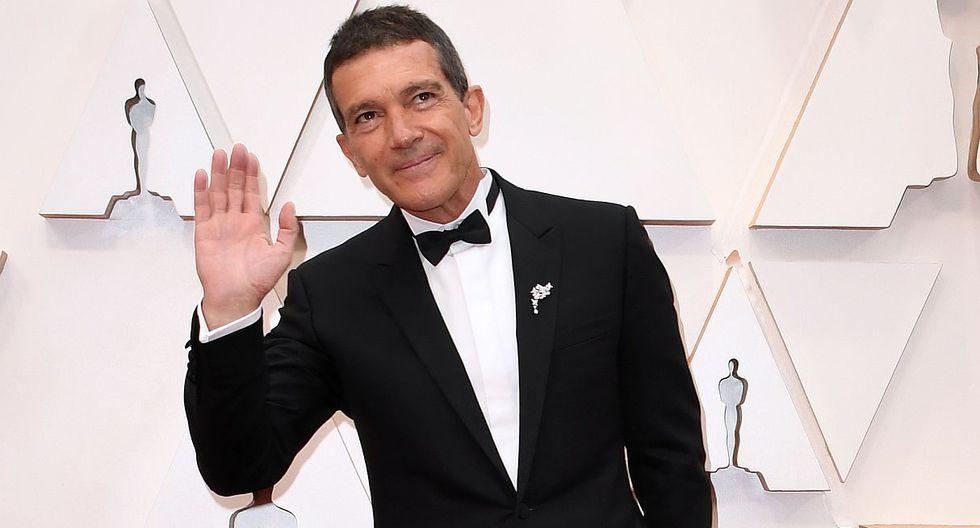 """Antonio Banderas en los Oscars 2020: """"Esta noche todo es gloria, pase lo que pase"""". (Foto: AFP)"""