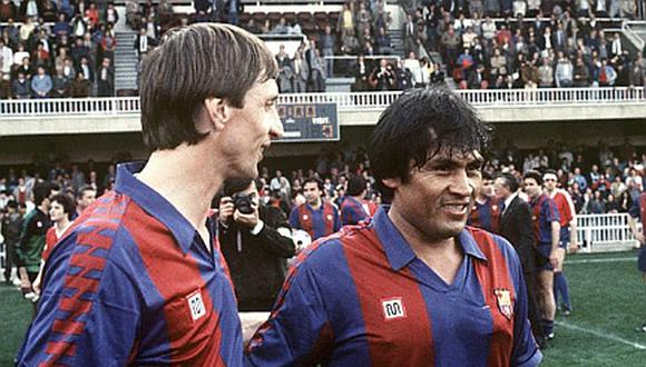 La foto de Hugo Sotil y Johan Cruyff que remece las redes sociales [FOTO]