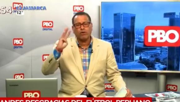 """Phillip Butters a Percy Olivares: """"En vez de agarrar a su hijo y darle un coscorrón, le aplaude una estupidez"""""""