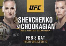 Valentina Shevchenko y Katlyn Chookagian [En vivo] en breve pelean en el UFC 247 [VIDEO]