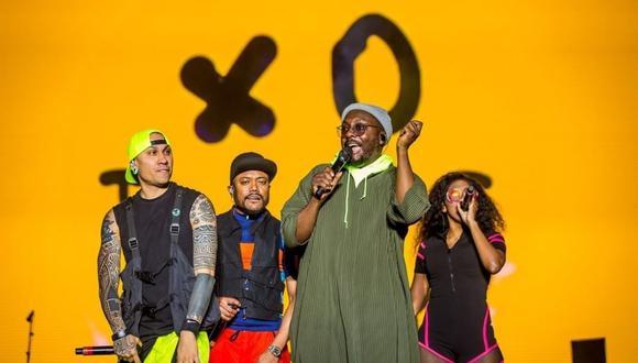 El concierto de Black Eyed Peas será el 11 de junio. (Foto: @bep).