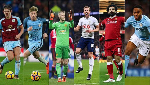 Premier League: los seis candidatos a ser el mejor jugador de la temporada
