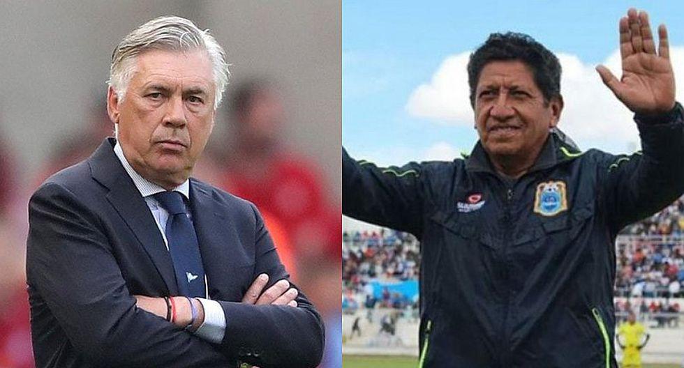 Binacional: Javier Arce responde luego de ser comparado con Carlo Ancelotti