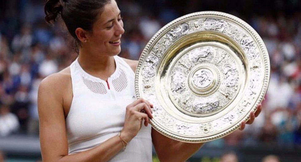 "Wimbledon 2017: ""Es increíble"", así catalogó Muguruza el triunfo ante Venus Williams"