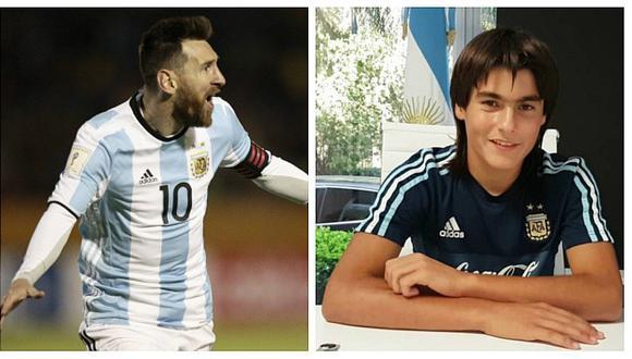 Promesa mexicana comparado con Lionel Messi decidió jugar por Argentina