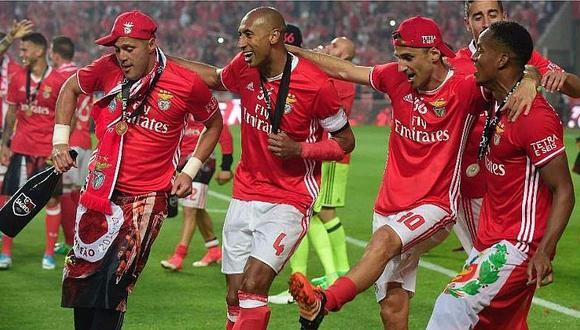 ¡André Carrillo campeón con Benfica! [VIDEO]