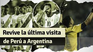 Revive el último partido de la selección peruana en Argentina