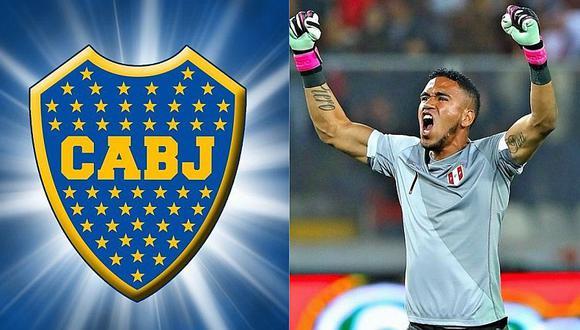 Pedro Gallese: ¿De qué depende que Boca Juniors lo contrate?