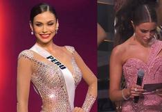 Olivia Culpo y su reacción tras anunciar que Janick Maceta no seguía en competencia en el Miss Universo se vuelve viral | VIDEO