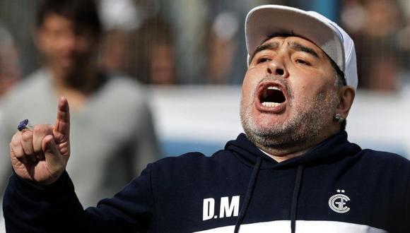 Diego Maradona falleció el pasado noviembre tras no superar una operación al cerebro. (Foto: AFP)