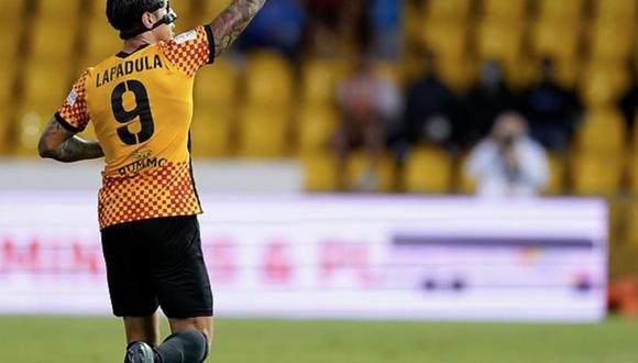 Gianluca Lapadula logró grandes estadísticas en la última victoria de Benevento. (Foto: Benevento).