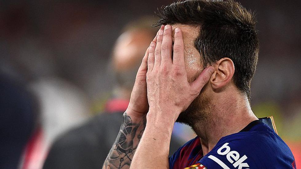 Barcelona: Lionel Messi y su sufrimiento tras perder la Copa del Rey | FOTOS