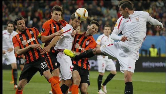 Sevilla venció 3-1 a Shakhtar Donetsk y pasó a la final de la Euroliga