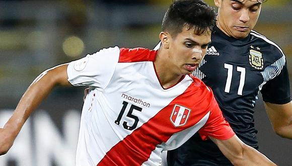 """Alessandro Burlamaqui tras el Sudamericano Sub-17: """"Me gusta Renato Tapia, creo que tengo cosas de él"""""""