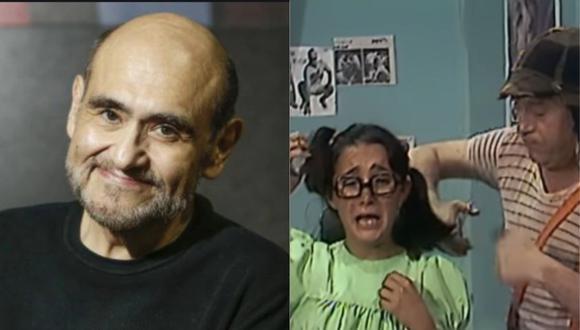 """El """"Señor Barriga"""" habló sobre escena de corte de cabello a la """"Chilindrina"""" (Foto: GEC/Captura)"""
