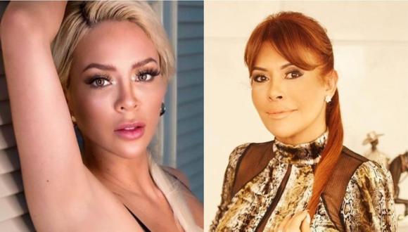 """Magaly Medina a Sheyla Rojas: """"Nuestras conversaciones nos pintan de cuerpo entero"""". (Foto: @magalymedinav/@_sheyoficial)."""