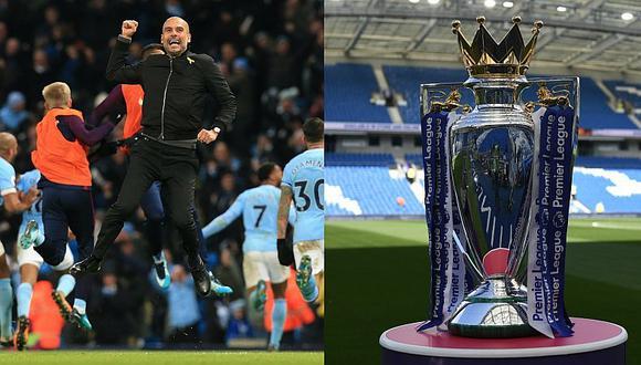 Manchester City salió campeón de la Premier League 2017/18