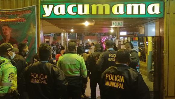La mayoría de los intervenidos estaba en estado de ebriedad. No contaban con ninguna protección. (Foto:Municipalidad del Callao)
