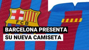 Así será la nueva camiseta de Barcelona para la temporada 2021-22