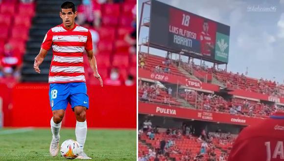 El defensa peruano hizo su debut oficial en LaLiga con Granada.