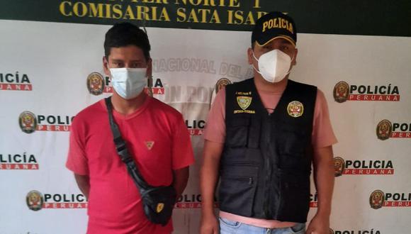 Vladimir de los Santos quedó a disposición de la comisaría de Santa Isabel en calidad de detenido por el presunto delito de hurto.