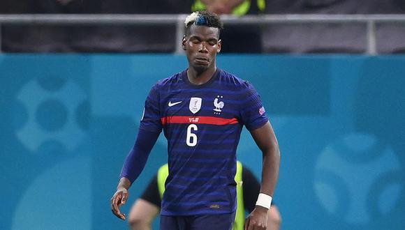 Francia quedó eliminada de la Eurocopa 2021 a manos de Suiza. (Foto: AFP)