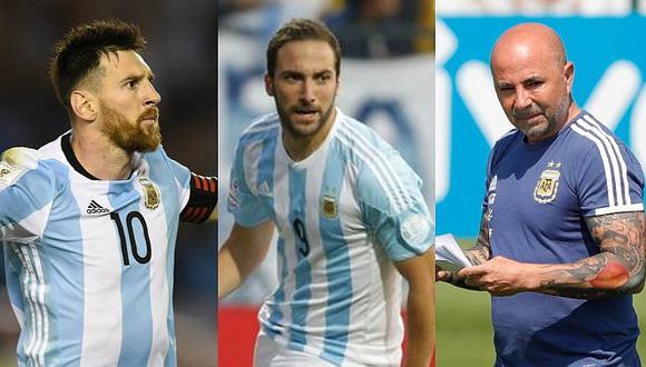 Selección argentina: Once confirmado con el regreso de Gonzalo Higuaín