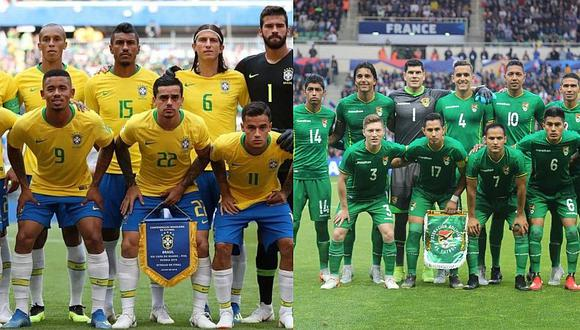 Brasil vs. Bolivia EN VIVO: el antecedente que hace 'temblar' al 'Scratch' en el debut de la Copa América 2019   FOTO