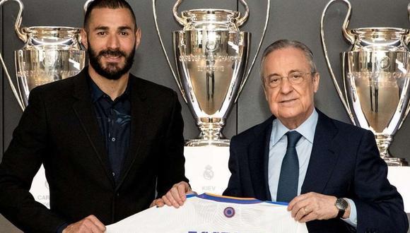 Karim Benzema renovó dos temporadas con Real Madrid. (Foto: Instagram @karimbenzema).