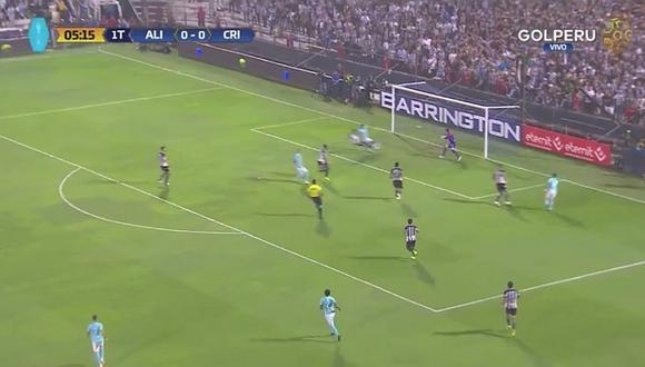Sporting Cristal: así fue el gol de Marcos López a los 6 minutos [VIDEO]