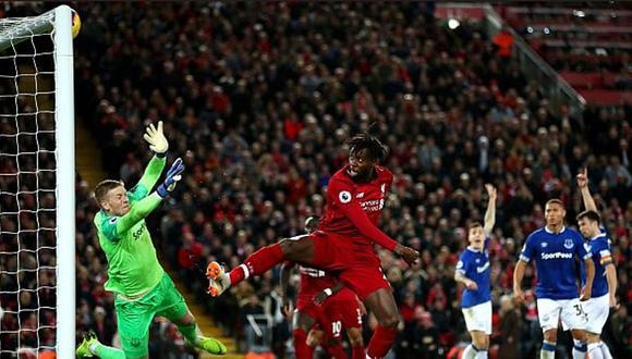 El insólito blooper de Pickford para la victoria de Liverpool [VIDEO]