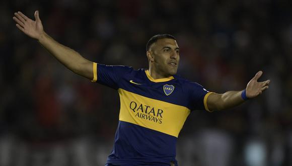 Ramón Ábila reveló que no deseaba marcharse de Boca Juniors. (Foto: AFP)